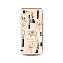 Per Custodie cover Transparente Fantasia/disegno Custodia posteriore Custodia Sexy Morbido TPU per AppleiPhone 7 Plus iPhone 7 iPhone 6s