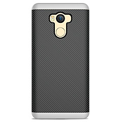 Voor xiaomi redmi 4 case cover frosted back cover case lijnen / golven soft tpu