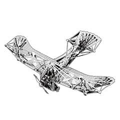 Puzzles Sets zum Selbermachen 3D - Puzzle Metallpuzzle Bausteine Spielzeug zum Selbermachen Flugzeug