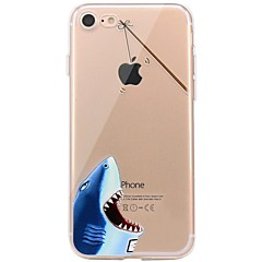 Case For IPhone 7 6 Playing With Apple Logo TPU Animal Soft Ultra-thin Back Cover Case Cover iPhone 7 PLUS 6 6s Plus SE 5s 5 5C 4S 4