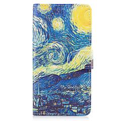 Taske til huawei p10 lite p8 lite (2017) cover cover starry himmel mønster pu læder tasker til huawei p9 lite mate 9 y625 changxiang5