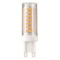 5W White Warm White Natural White  LED Bi-pin Lights T G9 88 SMD 2835 500-540 lm  Flicker free Decorative AC110-120 AC220 V 1 pc