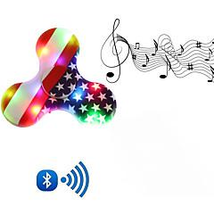 Fidget spinner -stressilelu hand Spinner Hyrrä Lelut Lelut Tri-Spinner Muovit EDCKilling Time Stressiä ja ahdistusta Relief Focus Toy