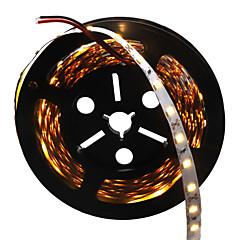 36W Fleksible LED-lysstriber 3500-3600 lm Jævnstrøm12 V 5 m 300 leds Varm Hvid Hvid
