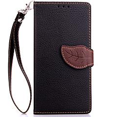 Taske til Sony Xperia xz xa kabinekort indehaveren tegnebog med stativ flip hele kropscase solid farve hard pu læder til xperia x compact