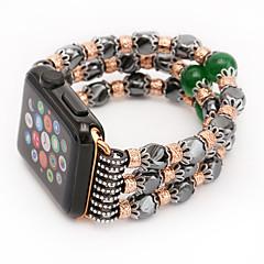 Agaat ontwerp koord band agaat band voor appel horlogeband met verbindingsadapter