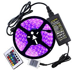 72W Lyssett 6950-7150 lm AC100-240 V 5 m 300 leds RGB