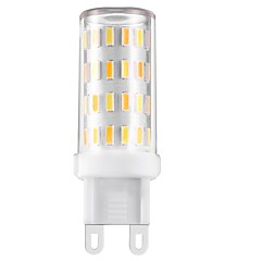 3W White Warm White Natural White Three colors change each other LED G9 T 60 SMD 4014 330-360 lm Three Light Source Color Decorative AC220 V 1 pc
