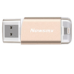 Newsmy i-m06 32g otg usb 3.0 bliksem mfi gecertificeerde flash drive u schijf voor iphone ipad ipod