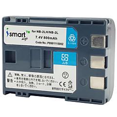 ismartdigi 2l 7.4V 800mAh kamera akkumulátor Canon 400d s80 S70 350d g7 G9 s60