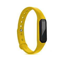 Dames Heren Sporthorloge Slim horloge Digitaal Waterbestendig Hartslagmeter Rubber Band Rood Paars Geel