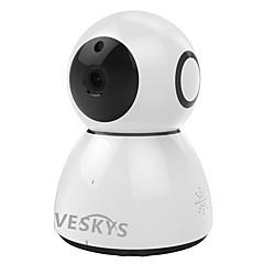 Veskys® 2.0mp 1080p hd wifi sikkerhed overvågning ip kamera sky lagring to-vejs lyd fjernbetjening skærm
