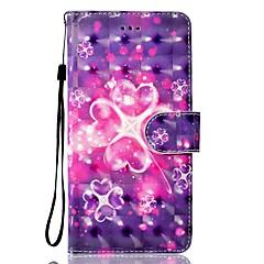 Taske til huawei p10 p10 lite telefon sag 3d effekt hjerte mønster pu materiale tegnebog sektion telefon taske p9 lite p8 lite p8 lite