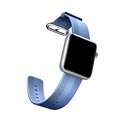 Watch μπάντα για ρολόι μήλο βασιλικό υφαντό νάιλον αθλητικό βραχιόλι λουράκι ρολόι 38mm 42mm
