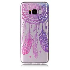 Skrzynka dla samsung galaxy s8 plus s8 telefon sprawa tpu materiał wiatr kuranty wzór malowany telefon sprawa s7 krawędź s7 s6 krawędź s6