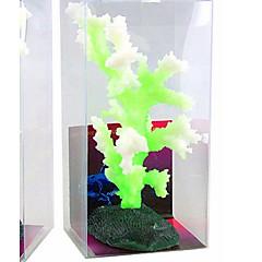 Aquarium Decoratie Koraal Lichtgevend Siliconen