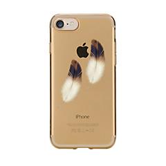 Για iPhone 7 iPhone 7 Plus Θήκες Καλύμματα Διαφανής Με σχέδια Πίσω Κάλυμμα tok Φτερά Μαλακή TPU για Apple iPhone 7 Plus iPhone 7 iPhone