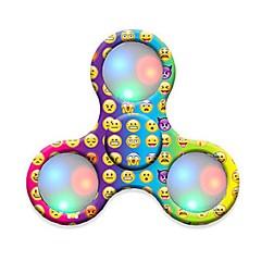 Håndspinnere Hånd Spinner Legetøj Tri-Spinner Plastik EDCStress og angst relief Kontor Skrivebord Legetøj til Killing Time Focus Toy