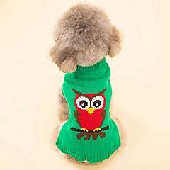 Γάτα Σκύλος Παλτά Πουλόβερ Ρούχα για σκύλους Πάρτι Καθημερινά Στολές Ηρώων Διατηρείτε Ζεστό Γάμος Χριστούγεννα Πρωτοχρονιά Halloween Ζώο