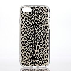 Case voor apple iphone 7 7 plus schokbestendig patroon achterhoes hoesje luipaard print glitter shine harde pc voor iphone 6s plus 6 plus