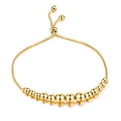 Dames Armbanden met ketting en sluiting Kubieke Zirkonia Basisontwerp Modieus Aanbiddelijk Luxe Sieraden Zirkonia Verguld Cirkelvorm