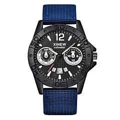 Heren Kinderen Sporthorloge Modieus horloge Polshorloge Unieke creatieve horloge Vrijetijdshorloge Chinees KwartsKalender Waterbestendig