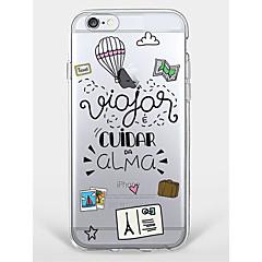 Περίπτωση για iphone 7 plus iphone 6 λέξη / φράση καρτούν μοντέλο τηλέφωνο μαλακό κέλυφος για iphone 7 iphone6 / 6s plus iphone6 / 6s