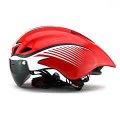 Unisex Bisiklet Kask 6 Delikler Bisiklet Dağ Bisikletçiliği Yol Bisikletçiliği Eğlence Bisikletçiliği Bisiklete biniciliği/BisikletTek