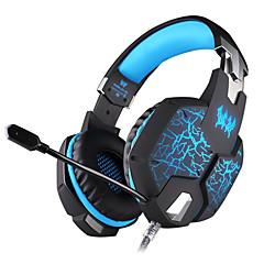 KOTION EACH G1100 Pandebånd Ledning Hovedtelefoner Dynamisk Gaming øretelefon Selvlysende Med Mikrofon Headset