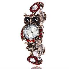 Dames Modieus horloge Polshorloge Armbandhorloge Unieke creatieve horloge Vrijetijdshorloge Gesimuleerd Diamant Horloge Chinees Kwarts