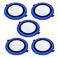 Panel izzók Természetes fehér Kék LED 5 db.