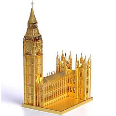 Puzzle Zestaw DIY Zabawki 3D Cegiełki DIY Zabawki Architektura Stal nierdzewna