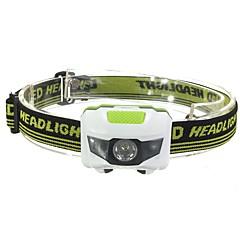 Lanternas de Cabeça LED 500 Lumens 3 Modo LED Baterias não incluídas Alarme Á Prova-de-Pó Leve para Campismo / Escursão / Espeleologismo