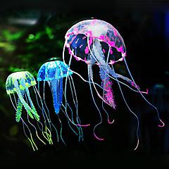 Akvaario Sisustus Meduusa Silikoni