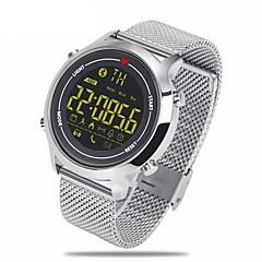 hhy de nieuwe zeblaze vibe stalen riem sport slimme horloges 365 dagen super standby 5atm waterdicht community sharing support android ios