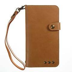 til kuffert kortholder lommebok med stativ flip magnetisk fuld kropsfarve solid farve hard pu læder til xiaomi xiaomi redmi 4x xiaomi