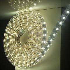 6m / 1pcs 220v 5050 leidde flexibele tape rope strip licht xmas buiten waterdicht tuin outdoor lightingeu stekker eu