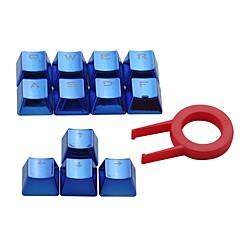 e-element dubbel schot pbt keycaps 12 translucidus backlit sleutelkappen voor cherry switches mechanische toetsenborden