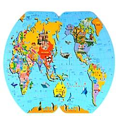Puzzle Puzzle Lemn Oval Pentru copii Unisex