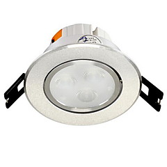 1pc 4w ingebouwde led spot licht celing light warm wit / wit ac220v maat gat 75mm
