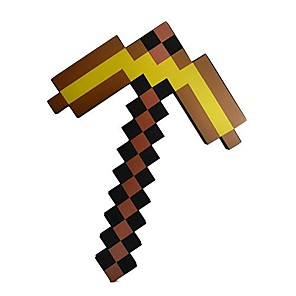 gold pickaxe minecraft - 500×500