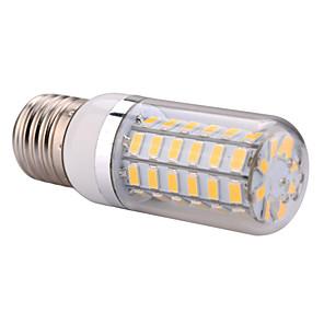 YWXLIGHT® 1pc 12 W 1200 lm E14 / E26 / E27 LED Λάμπες Καλαμπόκι T 60 LED χάντÏες SMD 5730 ΘεÏμό Λευκό / ΨυχÏÏŒ Λευκό 220-240 V / 110-130 V / 1 τμχ