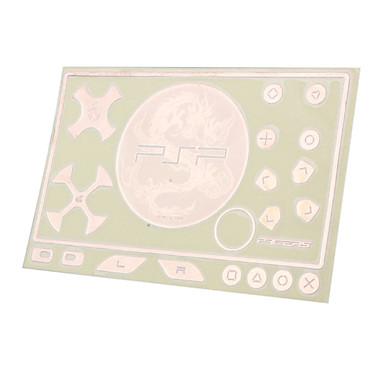 etiqueta engomada del tatuaje del dragón chino para PSP 3000