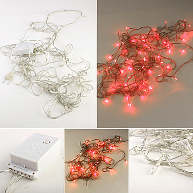 10M 100-LED Colorful Light 8 Sparkling Modes String Lamp Christmas Halloween Decoration (220V)