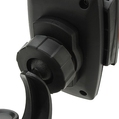 Universal Car Mount Kit for iPhone 4S, Samsung i9220, PSP and GPS (Orange and Black)