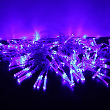10m 100 geleide kleurrijk licht 8 standen led slinger lamp 220v 2016 - String kantoor ...