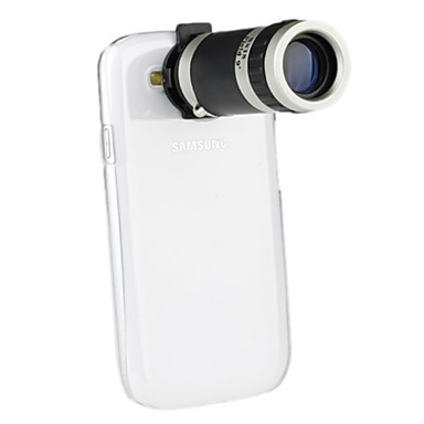 Telescope 8X Zoom Camera Lens with Case for Samsung Galaxy S3 I9300
