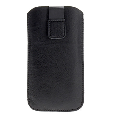 Light Surface Protective PU Leather Pouch Case for iPhone 5/5S