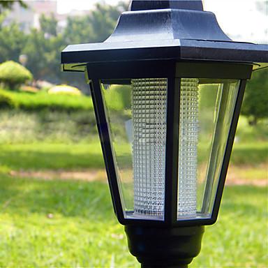 Solare del LED luce bianca da parete Lampada da giardino Path del 519807 2017 a €28.99