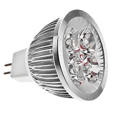 5W GU5.3(MR16) LED Spotlight MR16 4 High Power LED 270 lm Warm White DC 12 V